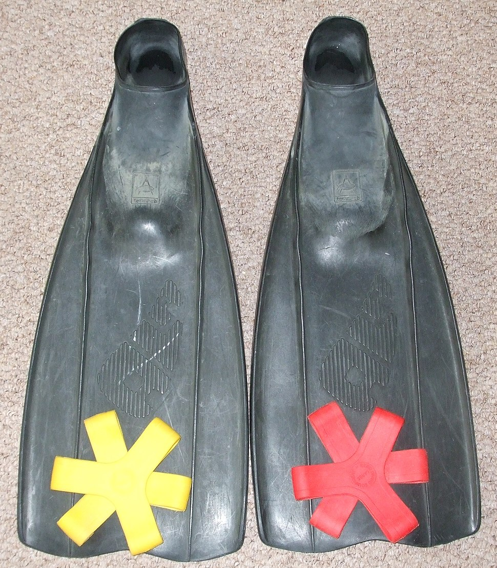 Technisub Ala Swimming Fins with Coloured Fin Grips