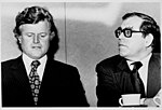 Ted Kennedy and Murray Finley (5279404470).jpg