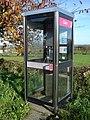 Telephone box in Nercwys - geograph.org.uk - 281192.jpg