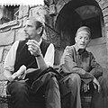Televisiespel De opgeschreven man, links Ton Lensink, rechts Herbert Joeks, Bestanddeelnr 910-6775.jpg