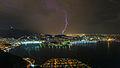 Tempestade no Rio de Janeiro visto do Pão de Açúcar.jpg