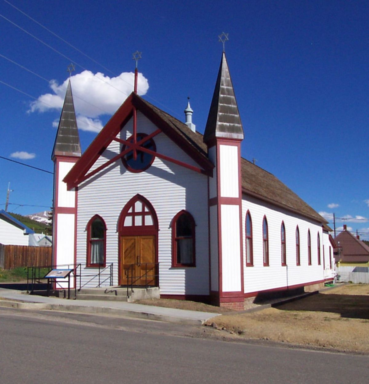 Temple Israel Leadville Colorado Wikipedia