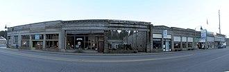 Tenino, Washington - Downtown Tenino, along Sussex Street, 2011