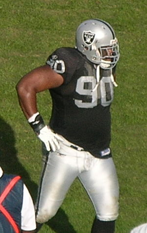 Chiefs–Raiders rivalry - Terdell Sands was drafted by Kansas City in 2001 but became a starter while with Oakland.