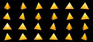 Tetrahedron - Image: Tetraedro (Matemateca IME USP)