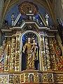 Thédirac - Église Saint-Roch de Thédirac - Chapelle Sud - Retable de la Vierge -1.jpg