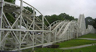 Cannon Ball (roller coaster) - Image: The Cannon Ball Lake Winnepesaukah Amusement Park Lakeview, Georgia