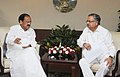 The Chief Minister, Chhattisgarh, Dr. Raman Singh calling on the Union Minister for Urban Development, Housing and Urban Poverty Alleviation and Parliamentary Affairs, Shri M. Venkaiah Naidu, in New Delhi on July 04, 2014.jpg