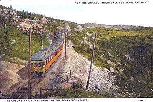 Columbian (MILW train) - The Columbian in 1927.