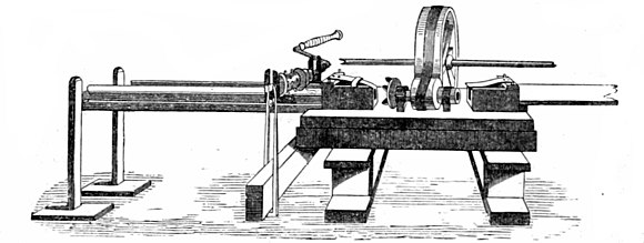 THE HAND-RAIL CUTTING MACHINE.