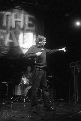 Mark E. Smith - Smith performing in Edinburgh, 2011