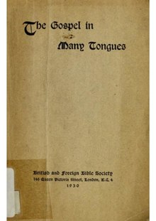 The Gospel in Many Tongues (1930).pdf
