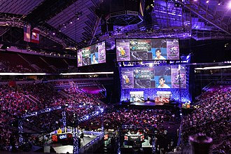 ESports - The International, a Dota 2 tournament that is played  annually at the KeyArena in Seattle