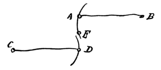 Watt's linkage - Hand-drawn diagram by James Watt (1808) in a letter to his son, describing how he arrived at the design.