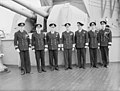 The King Pays 4-day Visit To the Home Fleet. 20 March 1943, Scapa Flow, Wearing the Uniform of An Admiral of the Fleet, the King Paid a 4-day Visit To the Home Fleet. A15247.jpg