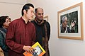 "The King of Bhutan, HM Jigme Khesar Namgyel Wangchuck going round after inaugurating the Photo Exhibition ""BHUTAN An Eye to History"", in New Delhi on December 23, 2009.jpg"