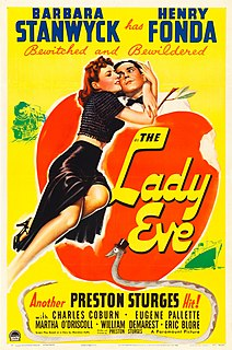 <i>The Lady Eve</i> 1941 film by Preston Sturges