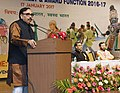 The Minister of State for Human Resource Development, Dr. Mahendra Nath Pandey addressing at the inauguration of the Navodaya National Integration Meet and Award Function 2016-17, in New Delhi.jpg