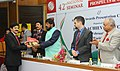 The Minister of State for Social Justice & Empowerment, Shri Ramdas Athawale presented the Achievers' Awards, at a function, in New Delhi on February 06, 2017 (3).jpg