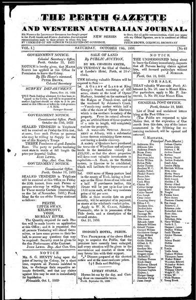 File:The Perth Gazette and Western Australian Journal 1(42).djvu