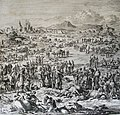 The Phillip Medhurst Picture Torah 324. Murrain in the livestock. Exodus cap 9 v 6. Luyken and son.jpg