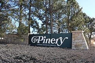 The Pinery, Colorado Census Designated Place in Colorado, United States