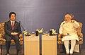 The Prime Minister, Shri Narendra Modi and the Prime Minister of Japan, Mr. Shinzo Abe addressed the India-Japan Business Leaders Forum, in New Delhi on December 12, 2015 (1).jpg