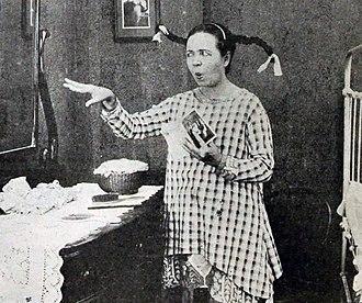 Sis Hopkins - Rose Melville, the original Sis Hopkins in the play.