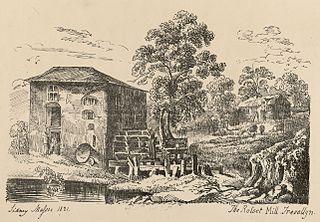 The Rosset mill, Trevallyn