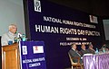 The Speaker, Lok Sabha, Shri Somnath Chatterjee addressing at the Human Rights Day Function of the National Human Rights Commission, in New Delhi on December 10, 2008.jpg