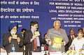The Speaker, Lok Sabha, Shri Somnath Chatterjee releasing Special Software for monitoring works of MPLAD Schemes in New Delhi on November 30, 2004.jpg