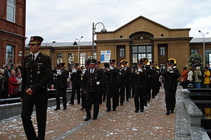 Latvian National Armed Forces Staff Battalion - Staff Orchestra of the Latvian National Armed Forces.