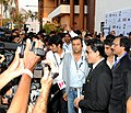 The Super Cinestar Shahrukh Khan interacting with the media, at the inaugural ceremony of 42nd International Film Festival of India (IFFI-2011), at Ravindra Bhavan, in Madgaon, Goa on November, 23, 2011.jpg
