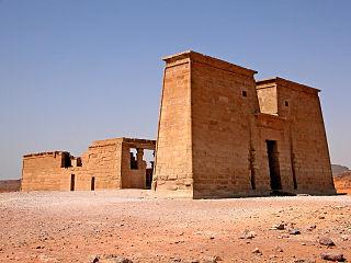 Temple of Dakka building in Egypt