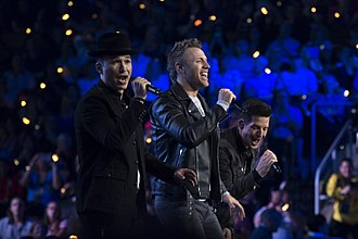 The Tenors - The Tenors performing for the 2017 Invictus Games opening ceremony at the Air Canada Centre in Toronto