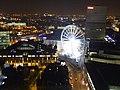 The Triangle and Big Wheel at night - geograph.org.uk - 437576.jpg