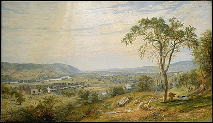 The Wyoming Valley in the 1860s The Valley of Wyoming MET DT4598.jpg