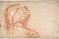 The Virgin Adored by Saints (recto); Study of the Torso Belvedere (verso) MET DP802753.jpg