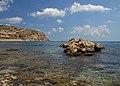 The coast near Stegna 3. Rhodes, Greece.jpg