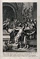The funeral of Abraham. Engraving by M. van der Gucht after Wellcome V0034252.jpg
