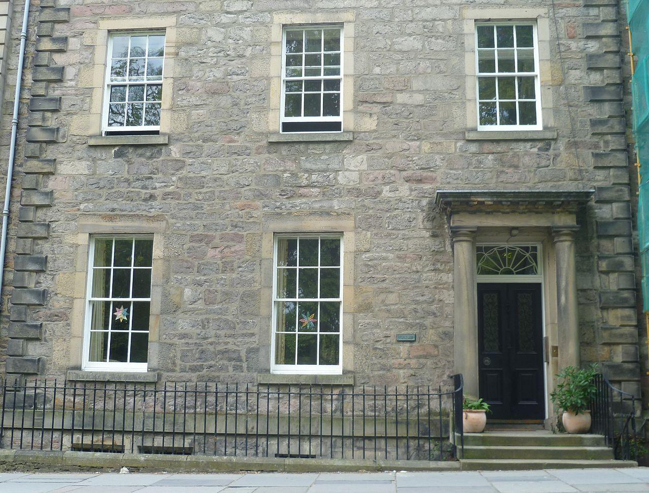 File The Home Of Walter Scott George Square Edinburgh