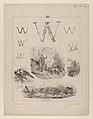 "The letter ""W""- Washington, Wagram, Waterloo MET DP841231.jpg"