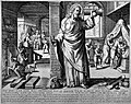 The medical practitioner appearing as Christ when he arrives Wellcome L0024948.jpg