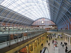 The new look St Pancras - geograph.org.uk - 1732533.jpg
