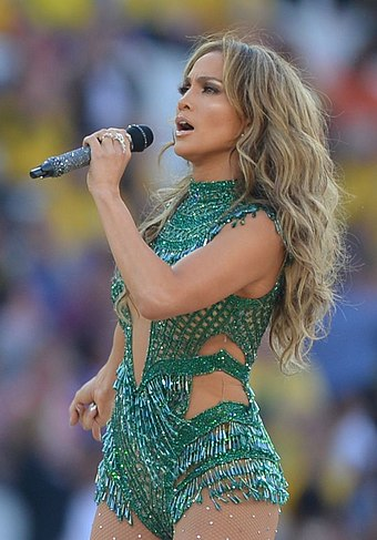 Lopez performing during the 2014 FIFA World Cup opening ceremony in Brazil The opening ceremony of the FIFA World Cup 2014 13 (cropped).jpg