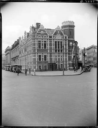 Wellington City Libraries - The original Public Library designed in 1891 and opened in 1893