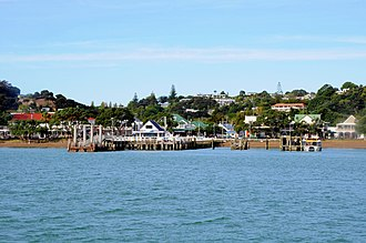 Paihia - The Paihia wharf