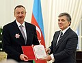 The presidents of Azerbaijan and Turkey have been awarded at Cankaya Palace 8.jpg