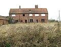 The ruined house at Planet Farm, Hethersett - geograph.org.uk - 2290891.jpg