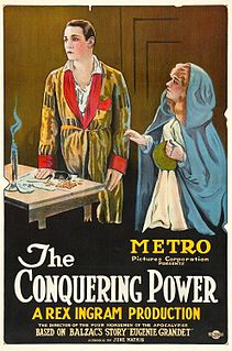 <i>The Conquering Power</i> 1921 film by Rex Ingram